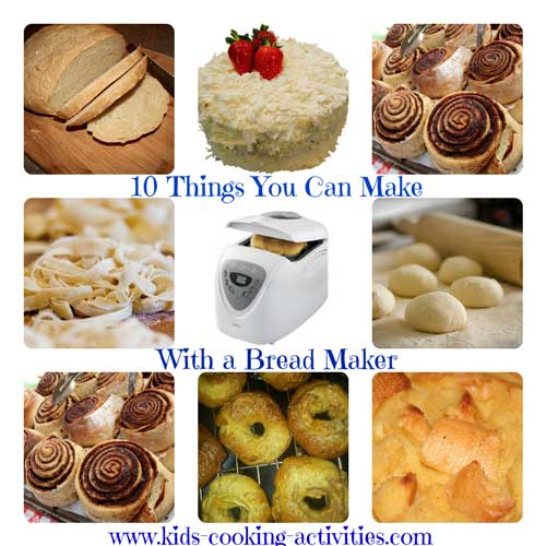 10 things to make with a bread maker