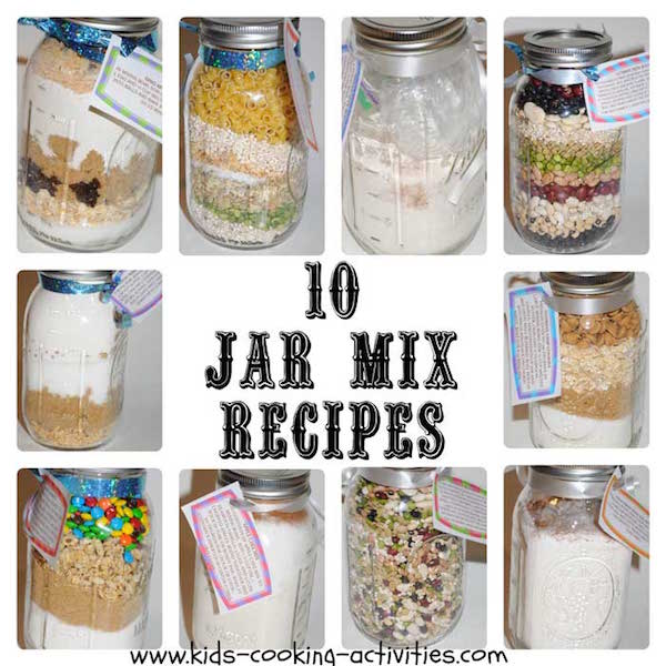 10 jar mix recipes