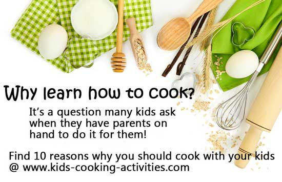 why learn how to cook