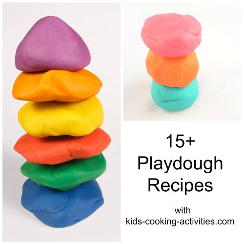 15 playdough recipes