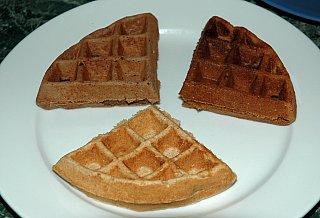 varitey waffles