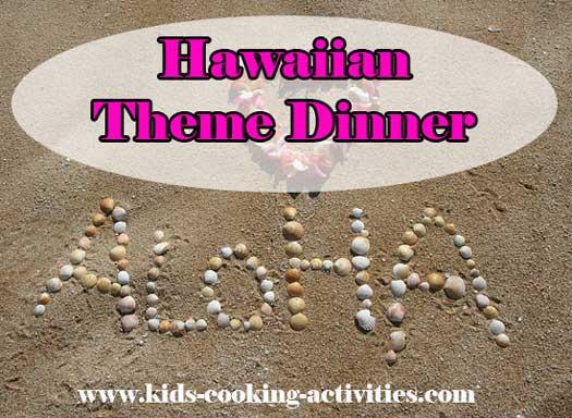 hawaiian dinner