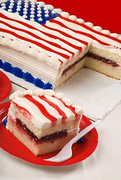 American Flag Cakes Kids Can Do