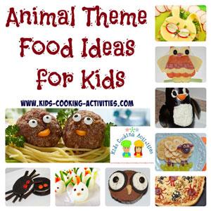 animal theme cooking