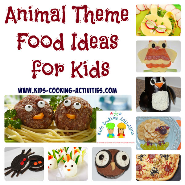animal theme recipes