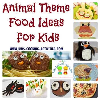 animal theme food ideas