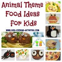 animal theme ideas