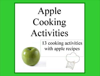 apple cooking activities