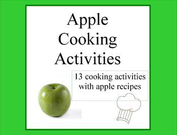 apple cooking activities