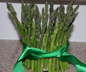 aspargus centerpiece