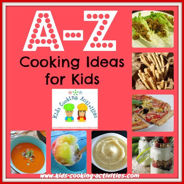 alphabet recipes