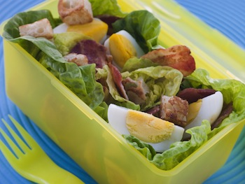 salad in the lunch box
