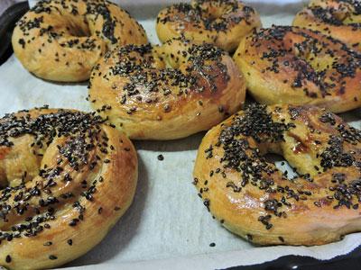 bagel toppings