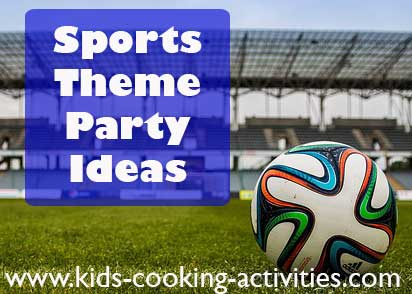 sports party food