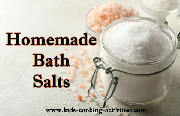 bath salt recipes