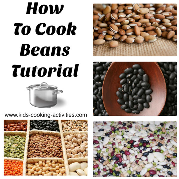 how to cook beans tutorial