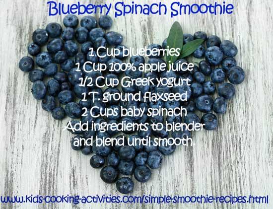 blue smoothie