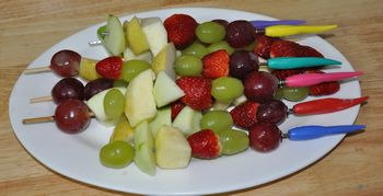 breakfast fruit kabob