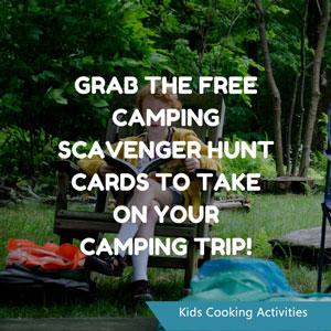scavenger hunt camp out