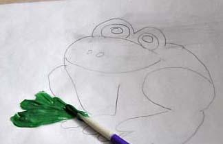 candy melt frog