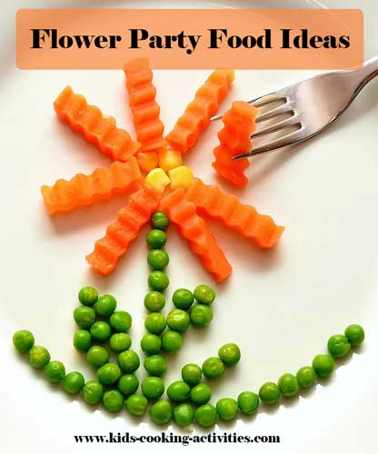 flower food ideas