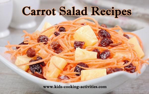 carrot salad recipes