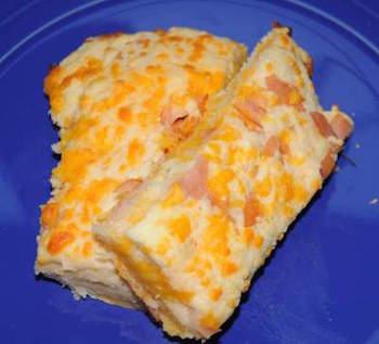 cheese ham biscuit sticks