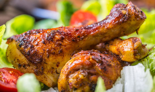 seasoned chicken drumsticks