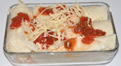 freezer enchiladas