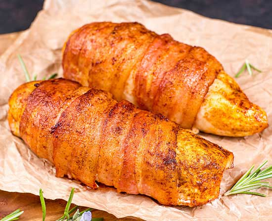 chicken bbq bacon