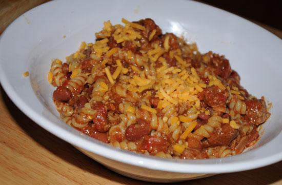 chili mac supper