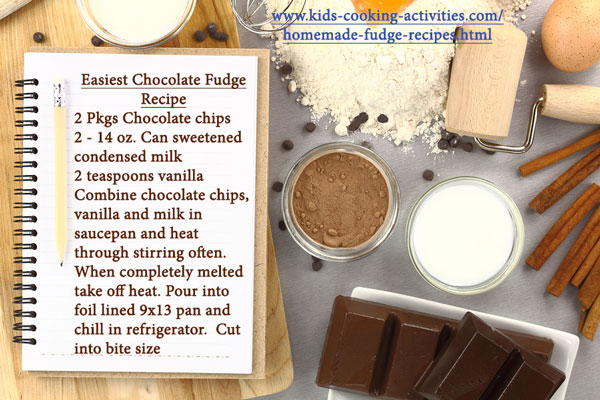 chocoalte fudge