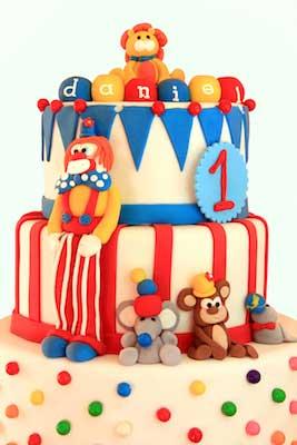 circus tier cake