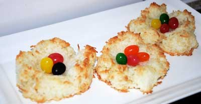 coconut nests