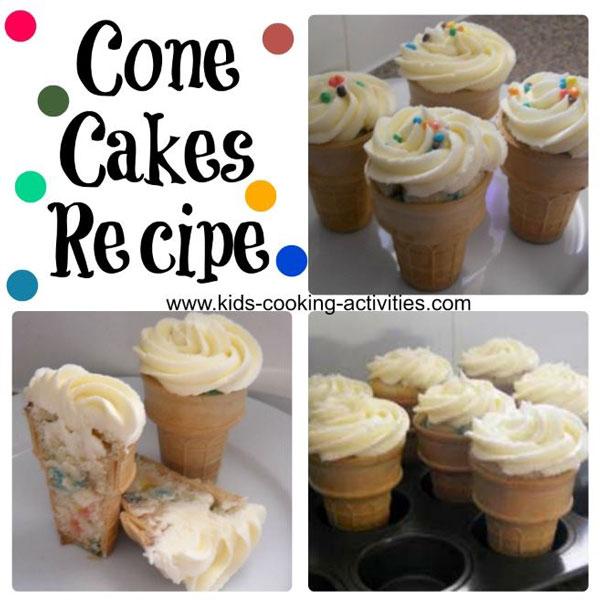 cone cakes