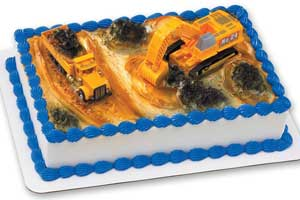 construction cake kit