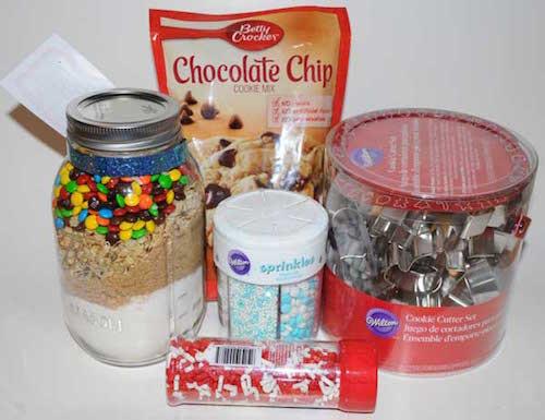 cookie baking gift basket & Edible Gift Basket Ideas