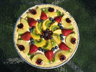 cookie swap fruit pizza