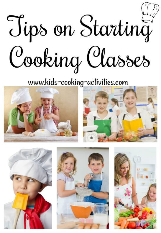 start cooking classes