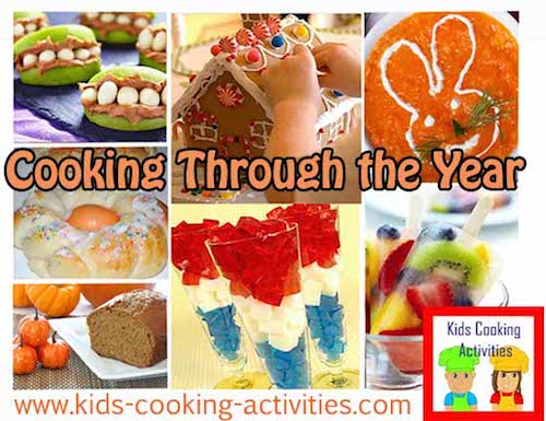 cooking through the year ideas
