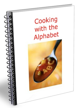 cooking alphabet
