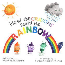 crayons saved the rainbow book