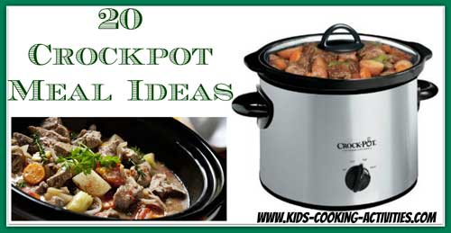 25 crockpot meal ideas