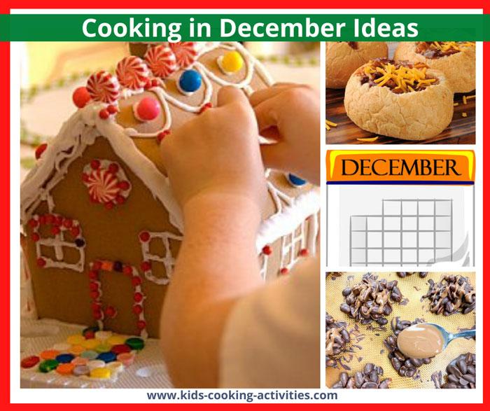 december cooking activities