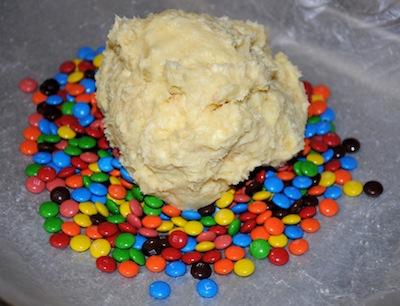 dessert cheeseball