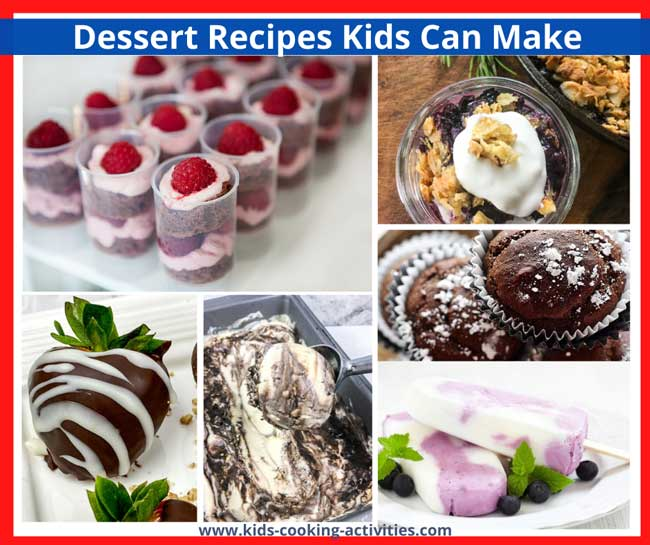 desserts kids can make