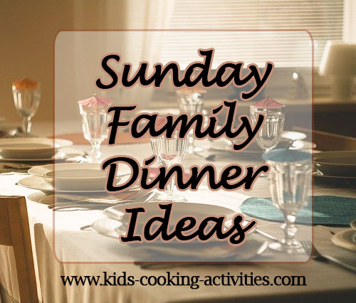 sunday meal ideas