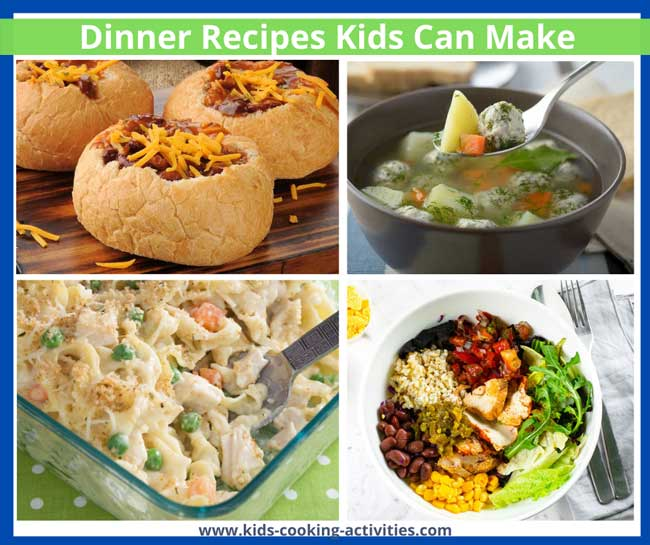 Dinner Recipes Kids Can Make