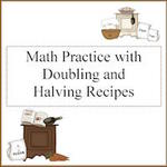 doubling and halving recipes