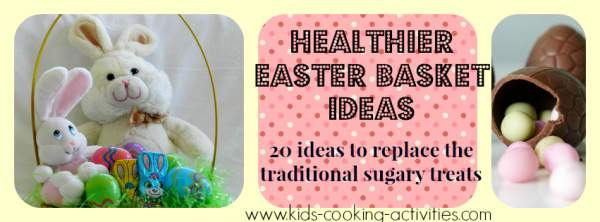 easter basket healthy ideas